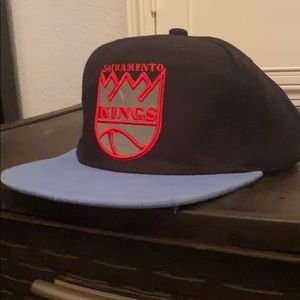 Sacramento Kings Retro Hat Mitchell and Ness